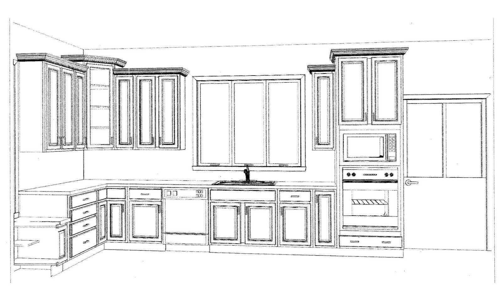 drawchen layout home design cabinets layouts my online free ...